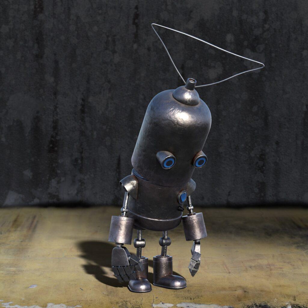ロボット--落胆