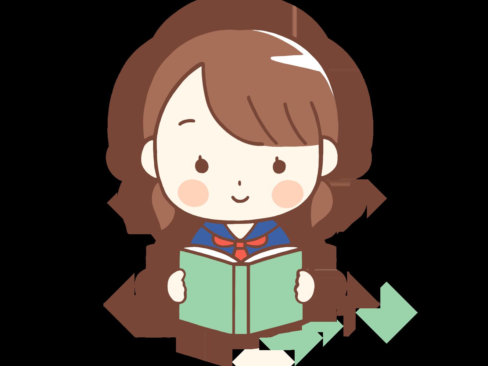 読書する学生